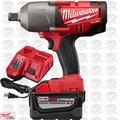 "Milwaukee 2764-20 M18 FUEL 3/4"" High-Torque Impact w/ Frict Ring 9.0ah Kit"