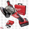 "Milwaukee 2781-21 M18 FUEL 4-1/2""/5"" Grinder, Slide Switch Lock-On OB"