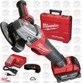"Milwaukee 2783-22 M18 FUEL 4-1/2"" / 5"" Braking Grinder Kit 2x XC5 Amps Batt O-B"