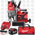 "Milwaukee 2787-22HD M18 Fuel 1-1/2"" Magnetic Drill Press H-D Kt 2x 9.0 Batts"