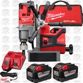 "Milwaukee 2787-22HD M18 Fuel 1-1/2"" Magnetic Drill Press H-D Kt 3x 9.0 Batts"