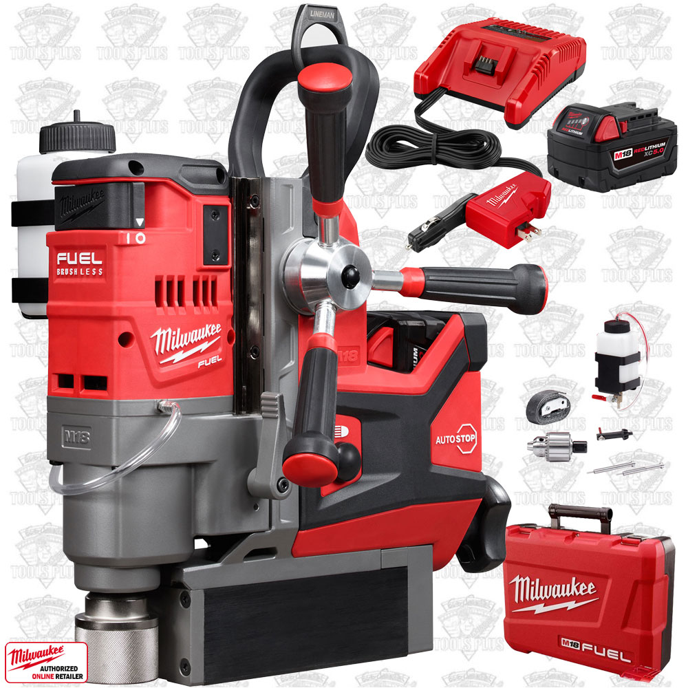 Milwaukee 2788 22 m18 fuel 1 1 2 lineman magnetic drill kit for Milwaukee motor vehicle department