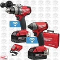 Milwaukee 2795-22 M18 FUEL 2-Tool Combo Kit with ONE-KEY OB