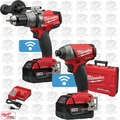 Milwaukee 2796-22 M18 FUEL 2-Tool Hammer & Impact Combo Kit with ONE-KEY