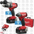 Milwaukee 2796-22 M18 FUEL Hammer Drill & Impact Kit w/ ONE-KEY OB