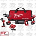 Milwaukee 2796-24 M18 FUEL 18V Li-Ion 4-Tool Combo kit