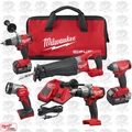 Milwaukee 2896-24 M18 Gen 2 FUEL Li-Ion 5-Tool + 2704-20 Kit w/2 5.0Ah Batts