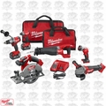 Milwaukee 2896-26 M18 18v Gen 2 FUEL Li-Ion 6-Tool Combo Kit 5.0Ah Batteries