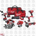 Milwaukee 2896-26 M18 Gen 2 FUEL Li-Ion 7-Tool Combo Kit + Bonus Tool