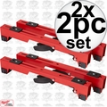 Milwaukee 40-08-0554 2x 2pc Miter Saw Stand Mounting Bracket Set