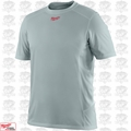 Milwaukee 410G-3X Gray WorkSkin Lightweight Performance Shirt