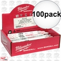 Milwaukee 48-01-7784 Torch 100pk 48-00-5784 18 TPI, 6""