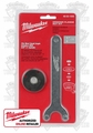 "Milwaukee 48-03-1050 Grinder Flange Nut Kit fits/ 5/8""-11 spindle"