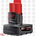 Milwaukee 48-11-2460 M12 REDLITHIUM XC 6.0 Extended Capacity Battery Pack