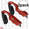 Milwaukee 48-22-1910 Side Slide Utility Knife 2x