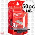 Milwaukee 48-22-1950 50 PC General Purpose Utility Blades w/ Dispenser