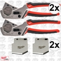 Milwaukee 48-22-4202 2pk Pex and Tubing Cutter w/Replacement Blades