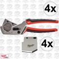 Milwaukee 48-22-4202 4pk Pex and Tubing Cutter w/Replacement Blades