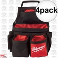 Milwaukee 48-22-8121 4pk 17 Pocket Carpenters Pouch