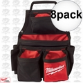 Milwaukee 48-22-8121 8pk 17 Pocket Carpenters Pouch
