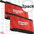 Milwaukee 48-22-8180 2pk Zipper Pouch