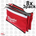 Milwaukee 48-22-8193 8x 3pk Color Coded Zipper Pouches 48-22-8180's