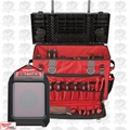 "Milwaukee 48-22-8220 24"" Hardtop Rolling Bag + Bluetooth Radio Kit"