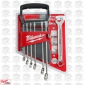 Milwaukee 48-22-9507 7pc Combination Wrench Set - Metric
