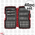 Milwaukee 48-32-1505 40pc Screwdriver Bit Set