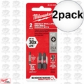 Milwaukee 48-32-4444 2pk Reduced Diameter Drywall Insert Bits