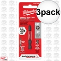 "Milwaukee 48-32-4462 3pk #2 Phillips Shockwave 2"" Power Bit"