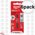 "Milwaukee 48-32-4462 6pk #2 Phillips Shockwave 2"" Power Bit"
