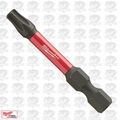 "Milwaukee 48-32-4482 Torx Shockwave Impact Duty 2"" Power Bit"
