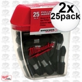 Milwaukee 48-32-4604 2x 25pk #2 Phillips Shockwave Impact Insert Bits