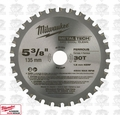 "Milwaukee 48-40-4070 5-3/8"" x 30 Tooth Ferrous Metal Blade"