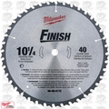 "Milwaukee 48-40-4172 10-1/4"" x 40 Tooth Carbide Circular Saw Blade"