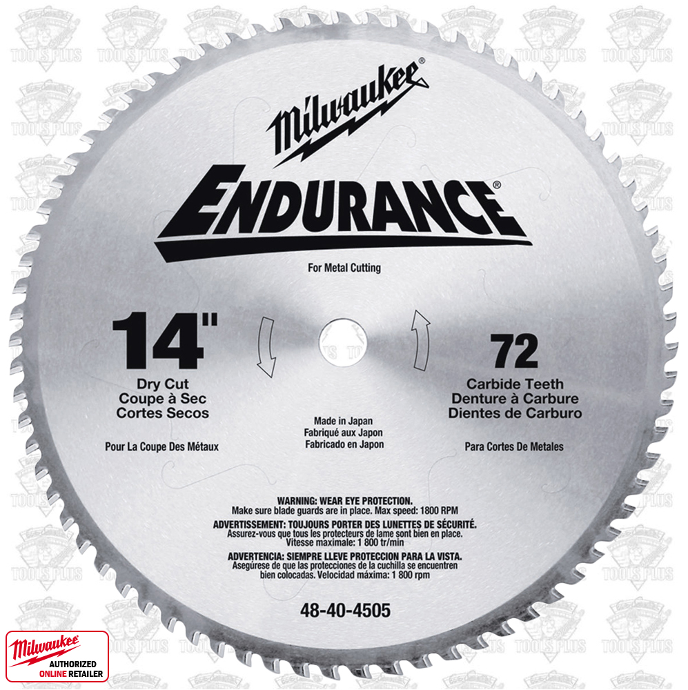 dry cut metal saw. milwaukee 48-40-4505 14\ dry cut metal saw