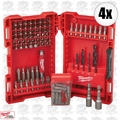 Milwaukee 48-89-1561 4x 95pc Drill and Driver Set