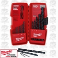 Milwaukee 48-89-2803 15 Piece Thunderbolt Black Oxide HSS Drill Bit Set