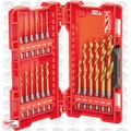 Milwaukee 48-89-4680 2x 18pc Shockwave Impact Duty Titanium Drill Bit Set