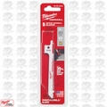 "Milwaukee 49-00-5310 5pk 3.5"" X 8 TPI Hackzall Wood Scroll Blades"
