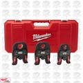"Milwaukee 49-16-2696 Black Iron Press 1/2"" - 1"" Kit OB"
