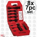 Milwaukee 49-22-0130 8x 7pc Contractor's Bit Kit
