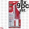 Milwaukee 49-22-1145 8x 9pc Sawzall Blade Set