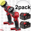 Milwaukee 49-24-2735 2pk M18 XC 4.0 Battery + Worklight