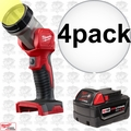 Milwaukee 49-24-2735 4pk M18 XC 4.0 Battery + Worklight