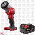 Milwaukee 49-24-2735 M18 XC 4.0 Battery + Worklight