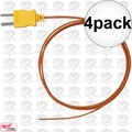 Milwaukee 49-77-2002 4pk K-Type Thermocouple