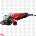 "Milwaukee 6117-30 5"" 13.0 Amp Small Angle Grinder PLUS Lock-On OB"