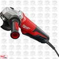 "Milwaukee 6117-31 5"" 13 Amp Paddle Switch Small Angle Grinder"